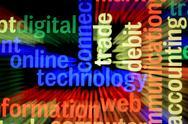Online technology Stock Illustration