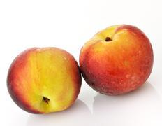 peaches - stock photo