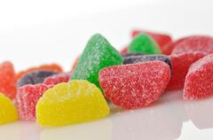 jelly candies - stock photo