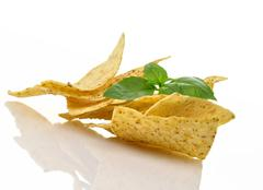 Stock Photo of corn tortilla chips