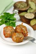 meatballs - stock photo