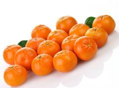 mandarin fruits - stock photo