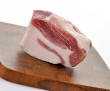 Fat pork Stock Photos