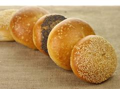 fresh rolls - stock photo