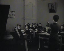 Music school. Newsreel. Stock Footage