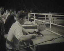 Physical training and sports in the USSR. Newsreel Stock Footage