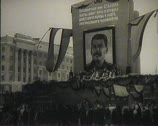 Stock Video Footage of The funeral of Stalin in the USSR. Newsreel.
