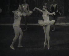 Theater of the USSR, newsreel. Stock Footage