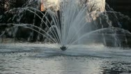 Sparkling Fountain Stock Footage