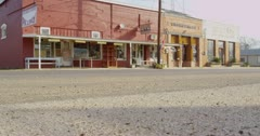 Small Town tracking shot 4K Stock Footage