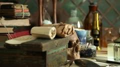 Stock Video Footage of alchemy still life
