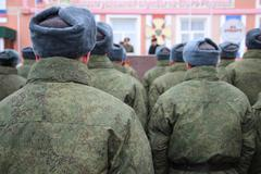 The Russian Army Stock Photos