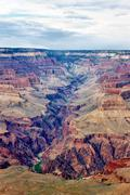 famous grand canyon, usa - stock photo