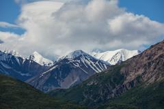 Vuoret alaska Kuvituskuvat