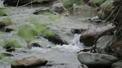 Babbling Brook 3 Stock Footage
