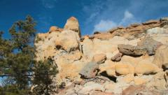 Palmer Park Rock Formations I Stock Footage