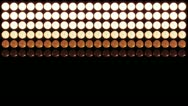 Stock Video Footage of Led Lights Red