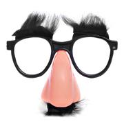 Fake nose and glasses Stock Photos