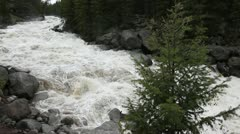 Spring runoff, Yellowstone - stock footage
