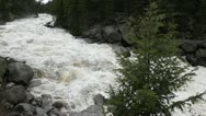 Stock Video Footage of Spring runoff, Yellowstone