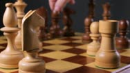 Chess moves Stock Footage