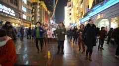 Stock Video Footage of Dancing in Shanghai