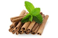 cinnamon sticks - stock photo
