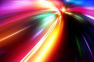 Acceleration speed motion on night road Stock Illustration
