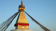 Stock Video Footage of Boudhanath stupa