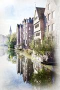 Ghent, Belgium. Stock Photos
