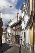 Streets of Bruges, Belgium Stock Photos