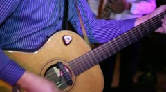 Guitar 01 Stock Footage