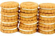 Cookies stacks Stock Photos