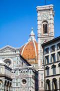 giotto's campanile - stock photo