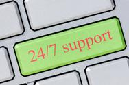24/7 support Stock Photos
