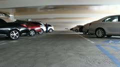 Parking garage Stock Footage