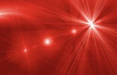 star magical red background - stock illustration