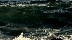Sea strength Stock Footage