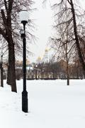 View of ivan the great bell tower, moscow Stock Photos
