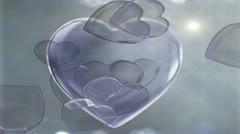 Love Hearts Stock Footage