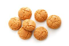 amaretti - stock photo