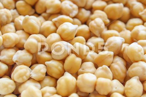Stock photo of chickbeans