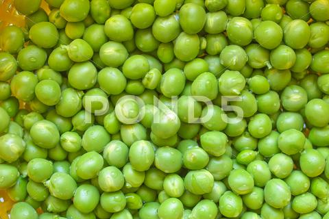 Stock photo of green peas