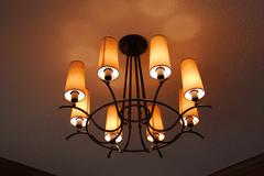 Light fixture Stock Photos