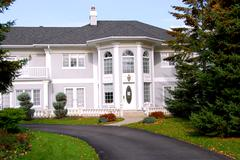 mansion - stock photo