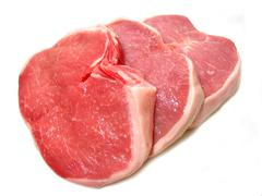pork chops - stock photo
