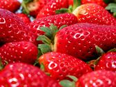 Stock Photo of strawberries macro