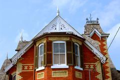 Victorian house Stock Photos