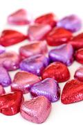 Stock Photo of valentine candy