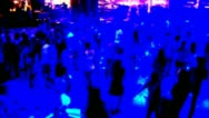 People Dancing at a night club Stock Footage